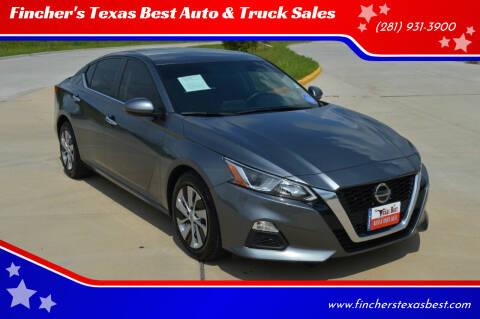 2019 Nissan Altima for sale at Fincher's Texas Best Auto & Truck Sales in Tomball TX