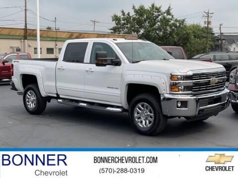 2018 Chevrolet Silverado 2500HD for sale at Bonner Chevrolet in Kingston PA