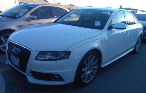 2012 Audi A4 for sale at SoCal Auto Auction in Ontario CA