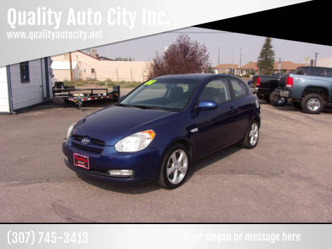 2008 Hyundai Accent for sale at Quality Auto City Inc. in Laramie WY