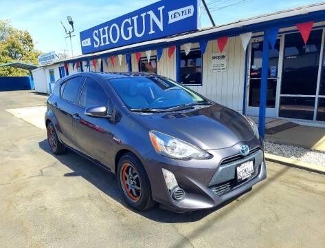 2015 Toyota Prius c for sale at Shogun Auto Center in Hanford CA