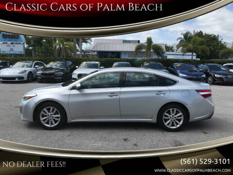 2013 Toyota Avalon for sale at Classic Cars of Palm Beach in Jupiter FL