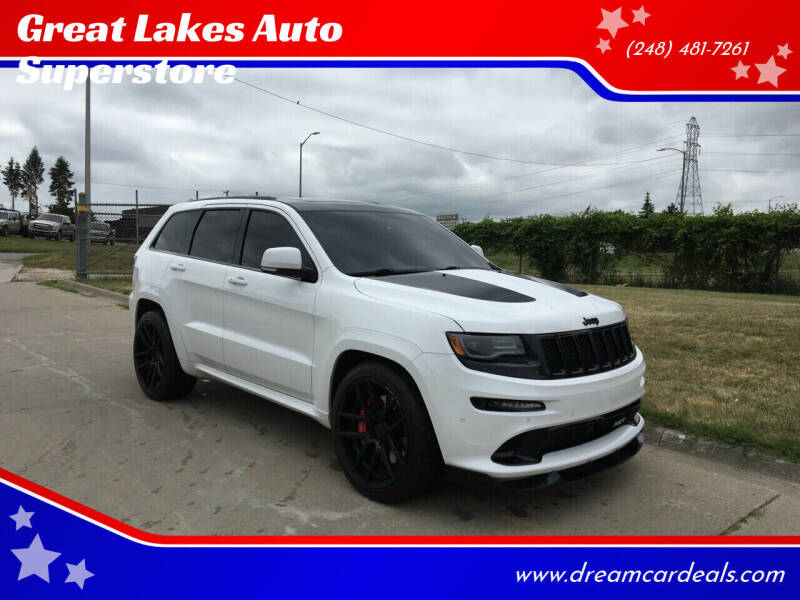 2015 Jeep Grand Cherokee for sale at Great Lakes Auto Superstore in Pontiac MI