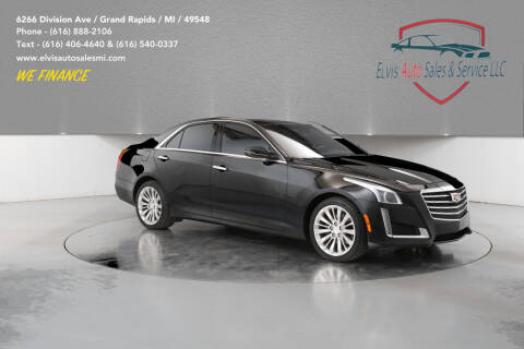 2015 Cadillac CTS for sale at Elvis Auto Sales LLC in Grand Rapids MI