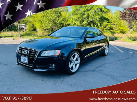 2008 Audi A5 for sale at Freedom Auto Sales in Chantilly VA