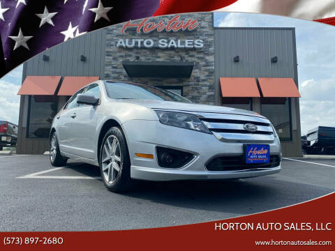 2010 Ford Fusion for sale at HORTON AUTO SALES, LLC in Linn MO