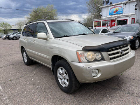 2001 Toyota Highlander for sale at Mister Auto in Lakewood CO