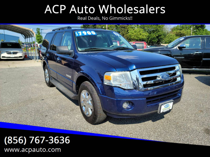 2008 Ford Expedition for sale at ACP Auto Wholesalers in Berlin NJ
