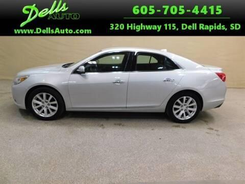 2013 Chevrolet Malibu for sale at Dells Auto in Dell Rapids SD
