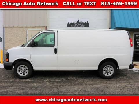 2009 Chevrolet Express Cargo for sale at Chicago Auto Network in Mokena IL