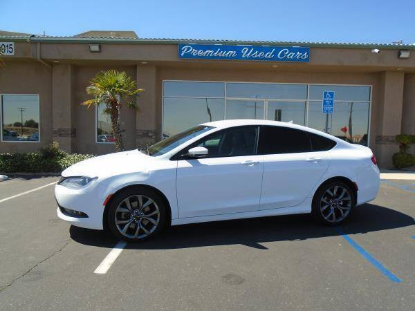 2015 Chrysler 200 for sale at Family Auto Sales in Victorville CA