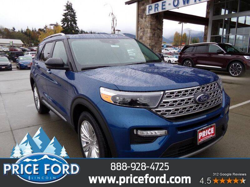 2021 Ford Explorer Hybrid for sale at Price Ford Lincoln in Port Angeles WA