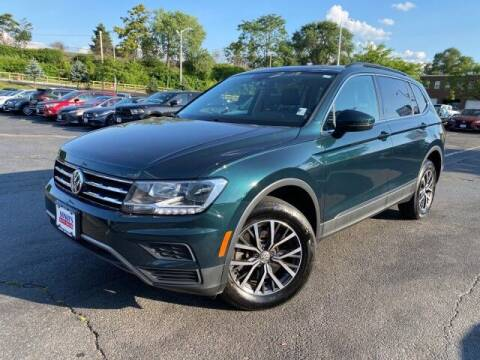 2018 Volkswagen Tiguan for sale at Sonias Auto Sales in Worcester MA