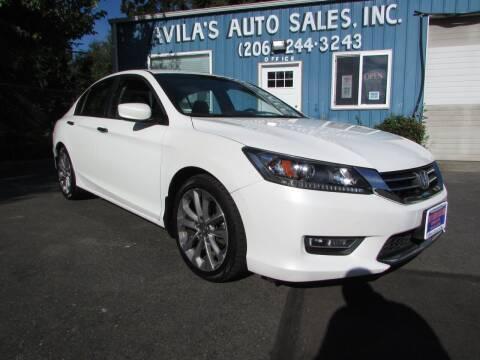 2013 Honda Accord for sale at Avilas Auto Sales Inc in Burien WA