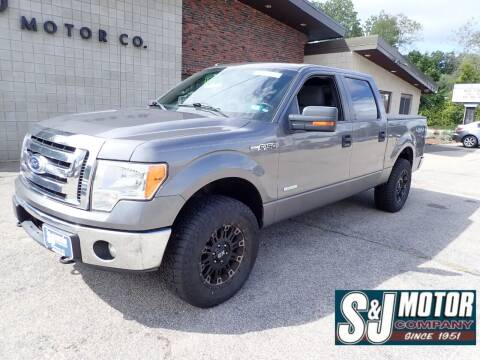 2011 Ford F-150 for sale at S & J Motor Co Inc. in Merrimack NH