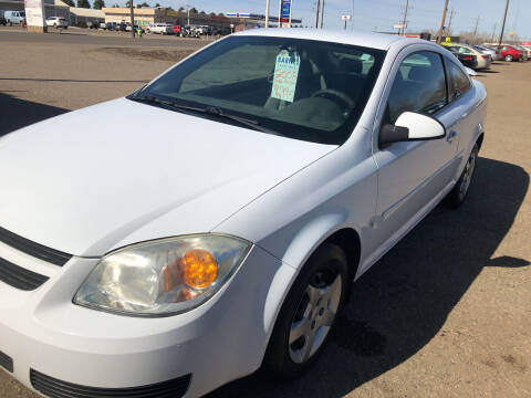 2007 Chevrolet Cobalt for sale at BARNES AUTO SALES in Mandan ND