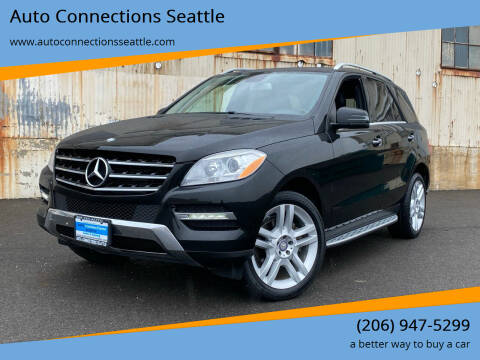 2013 Mercedes-Benz M-Class for sale at Auto Connections Seattle in Seattle WA