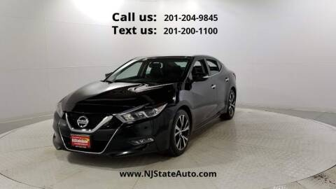 2018 Nissan Maxima for sale at NJ State Auto Used Cars in Jersey City NJ