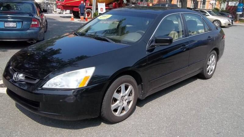 2005 Honda Accord for sale at Cypress Automart in Brookline MA