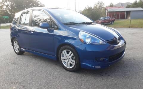 2008 Honda Fit for sale at Mathews Used Cars, Inc. in Crawford GA