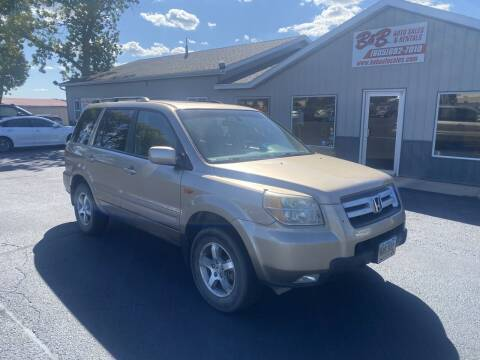 2006 Honda Pilot for sale at B & B Auto Sales in Brookings SD