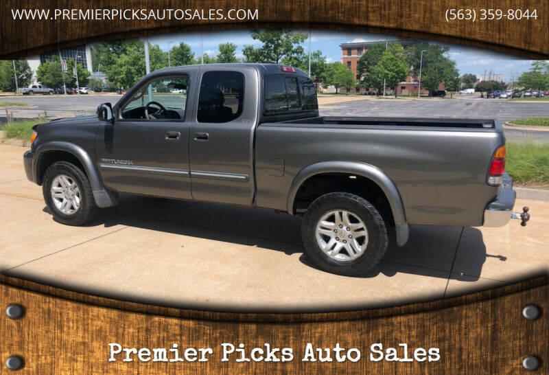 2003 Toyota Tundra for sale at Premier Picks Auto Sales in Bettendorf IA