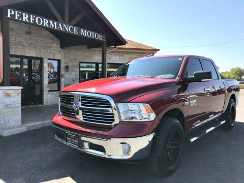2014 RAM Ram Pickup 1500 for sale at Performance Motors Killeen Second Chance in Killeen TX