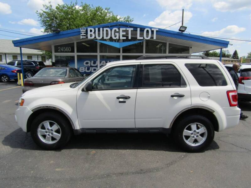 2010 Ford Escape for sale at THE BUDGET LOT in Detroit MI