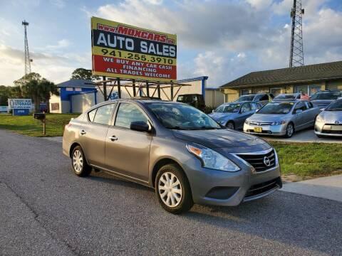 2019 Nissan Versa for sale at Mox Motors in Port Charlotte FL