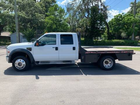 2008 Ford F-450 Super Duty for sale at LUXURY AUTO MALL in Tampa FL