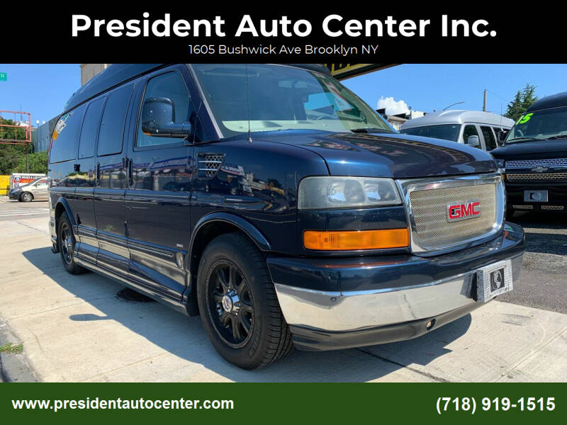 2011 GMC Savana Cargo for sale at President Auto Center Inc. in Brooklyn NY