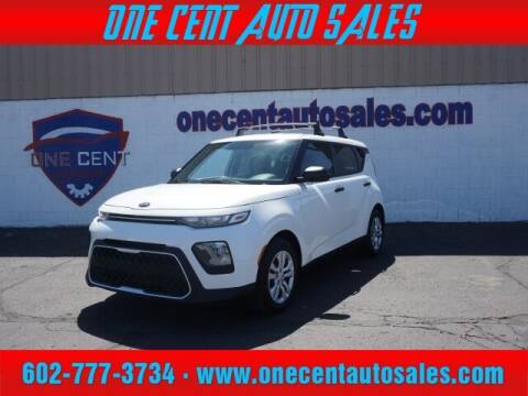 2021 Kia Soul for sale at One Cent Auto Sales in Glendale AZ