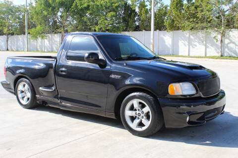 2000 Ford F-150 SVT Lightning for sale at Goval Auto Sales in Pompano Beach FL