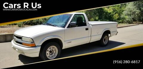 2001 Chevrolet S-10 for sale at Cars R Us in Rocklin CA