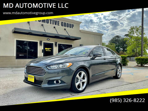 2015 Ford Fusion for sale at MD AUTOMOTIVE LLC in Slidell LA