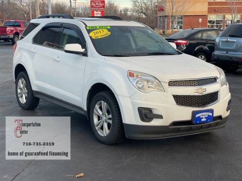 2013 Chevrolet Equinox for sale at Transportation Center Of Western New York in Niagara Falls NY