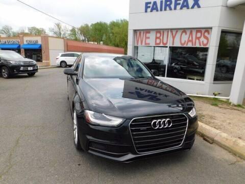2014 Audi A4 for sale at AP Fairfax in Fairfax VA