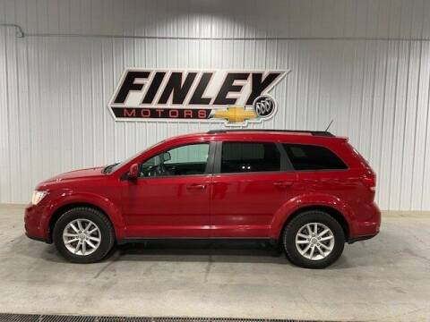 2017 Dodge Journey for sale at Finley Motors in Finley ND