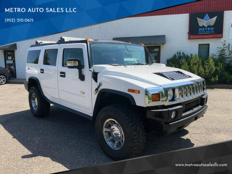 2007 HUMMER H2 for sale at METRO AUTO SALES LLC in Blaine MN
