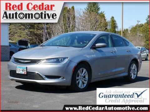 2015 Chrysler 200 for sale at Red Cedar Automotive in Menomonie WI