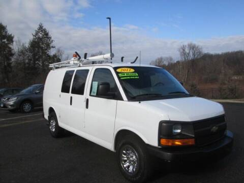 2011 Chevrolet Express Cargo for sale at Tri Town Truck Sales LLC in Watertown CT