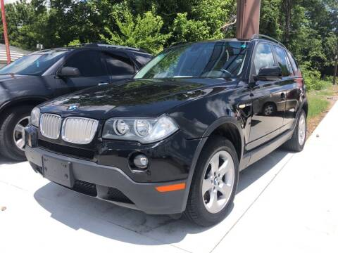2008 BMW X3 for sale at Wolff Auto Sales in Clarksville TN