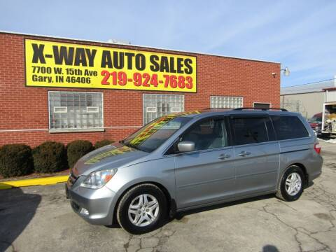 2007 Honda Odyssey for sale at X Way Auto Sales Inc in Gary IN