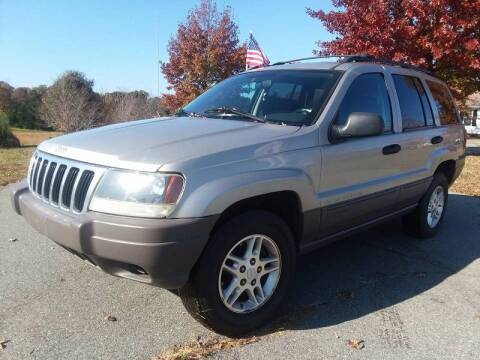 2003 Jeep Grand Cherokee for sale at BP Auto Finders in Durham NC