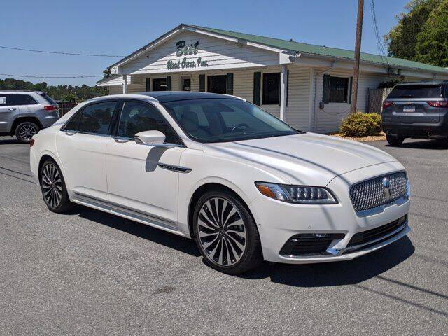 2017 Lincoln Continental for sale at Best Used Cars Inc in Mount Olive NC