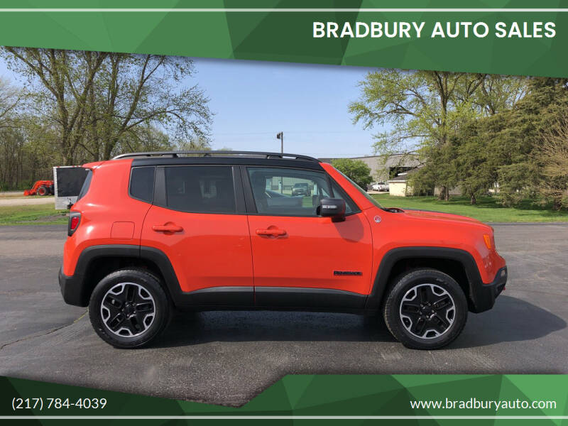 2016 Jeep Renegade for sale at BRADBURY AUTO SALES in Gibson City IL