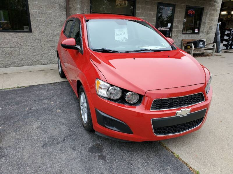 2012 Chevrolet Sonic for sale at A - K Motors Inc. in Vandergrift PA