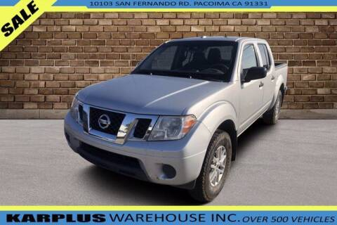 2015 Nissan Frontier for sale at Karplus Warehouse in Pacoima CA