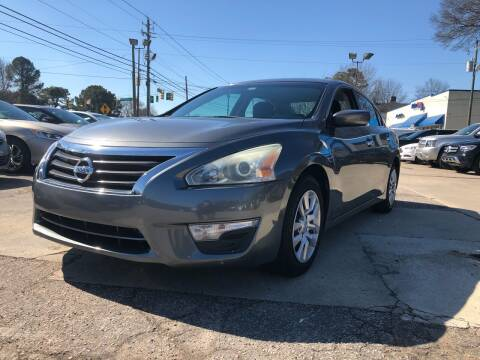 2015 Nissan Altima for sale at Capital Motors in Raleigh NC