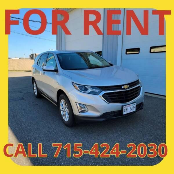 2020 Chevrolet Equinox for sale at L & L MOTORS LLC - RENTAL INVENTORY in Wisconsin Rapids WI